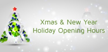 Xmas new Year Opening Hours